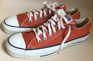 NWOB Vintage Converse All-Star Canvas Low Top Sneakers Size 8.5 Chuck Taylor USA