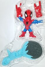"Super Hero Mashers Micro SPIDER-MAN 2.5"" Figure Series 1 Marvel Playskool"