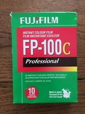Rare Fuji FP-100C Polaroid Pack Film. TESTED & WORKING!