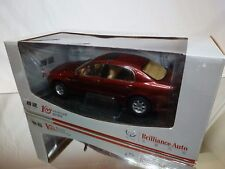 CHINA BRILLIANCE BS4? 2005 - RED 1:18 VERY RARE - EXCELLENT IN BOX - NOT AUTOART
