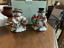 Partylite Snowman Candle Holders