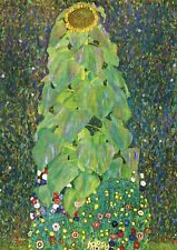 Gustav Klimt - The Sunflower - A2 QUALITY Canvas Print Poster 42x59.4cm Unframed
