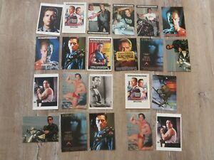 Arnold Schwarzenegger Postkarten  Sammlung
