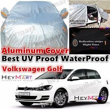 NEW Volkswagen Golf Polo waterproof UVproof Aluminum carcover auto VW car cover