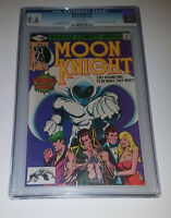 MOON KNIGHT #1 (1980) - CGC 9.6 - 1st App Bushman - Bill Sienkiewicz art