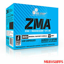 OLIMP ZMA Caps Zinc Magnesium Vitamin B6 Mineral support Testosterone Booster
