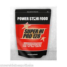 Powerstar Food SUPER HI PRO 128 Schoko Protein Pulver   1000 g   PZN 9480527