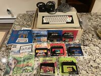 1980's Radio Shack TRS-80 Tandy Color Computer 2 With Games, Original Owner!