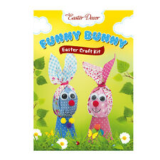 Easter Craft Kit Funny Bunnies Amazing Egg Decorating Easter Bunny Easter Gift