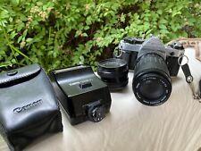Canon AE-1 Vintage Camera Bundle. (Zoom Lends, Flash).
