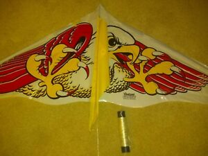 VINTAGE GAYLA #112 FANTAZMA GORDO KITE 1975 EAGLE GOOD FLYER! RETRO COOL BEACH