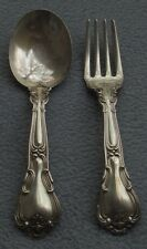 Gorham Sterling Silver Chantilly Baby Fork and Spoon Set
