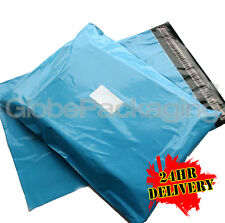 """1000 x Baby Blue STRONG Postal Mailing Bags - 12 x 16"""""""