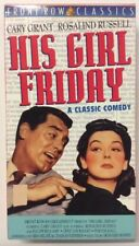 His Girl Friday (VHS, 1999) Cary Grant Rosalind Russell Porter Hall VHSshop.com