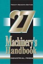 Machinery's Handbook by Margaret Jones, Horton and Oberg (2004, Paperback)