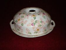 Vintage Mikori Ware Cloche Hand-Painted Floral Chintz Pattern 1950s Japan