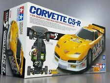 New Rare Tamiya 1/10 R/C Corvette C5-R TA04-S Belt Drive 4WD #58272 Finish Body