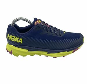 WOMEN'S HOKA ONE TORRENT 2  Size 7.5 DWEP Trail Running Hiking Shoes