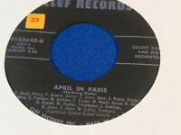 Count Basie and His Orchestra 45 April in Paris/Roll 'Em Pete Clef 89162