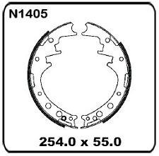 For Toyota Hilux/4 Runner YN60 YN65 YN67 LN60 LN65 8/83-88 REAR Drum Brake Shoes