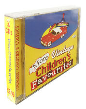 Vintage Children's Favourites 2 CDs. Original, TV themes, yesteryear, kids *NEW*