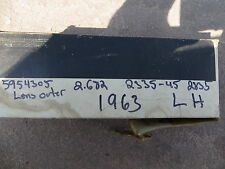 1963 NOS Pontiac Catalina Tail lens LH