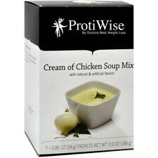 PROTIWISE | Cream of Chicken Diet Soup | High Protein, Fat Free, Low Carb