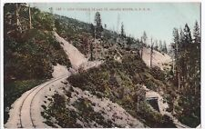 USA; Southern Pacific Railroad Loop Tunnels 14 & 15 PPC Unposted, c 1910's