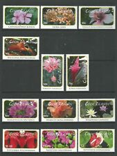 2010 Flora - Flowers set of 18  Complete MUH/MNH as Issued