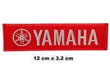 YAMAHA Racing Logo Formula 1 Biker Embroidered Sew/ Iron-on Patch Jacket Badge