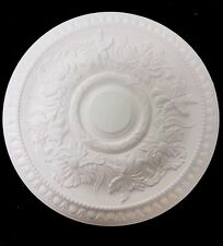 Lilly plaster ceiling rose CP22. 520mm wide. Hand made in the UK.