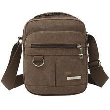 Men's Canvas Crossbody Hiking Military Messenger Sling Shoulder Bag Satchel Bags
