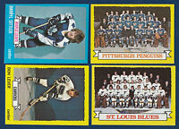 ST. LOUIS BLUES TEAM 73-74 TOPPS 1973-74 NO 105 NRMINT+  7293