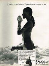 K- Publicité Advertising 1970 Cosmétique produits bain Dr NG Payot