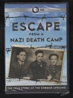Escape from a Nazi Death Camp (DVD, 2014) FACTORY SEALED PBS