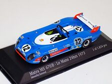 1/43 Minichamps Matra MC670B 1973 24 Hour of LeMans car #12
