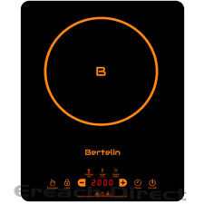 Bertelin Electric Induction Hob Portable Digital Touch Single Cooker Hot Plate