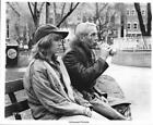 Paul Newman drinks brownbagged beer & Lindsay Crouse in SLAP SHOT - 1977 Still