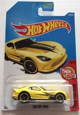 HOT WHEELS 2017 Then And Now 2013 SRT Viper # 199 NEW & SEALED
