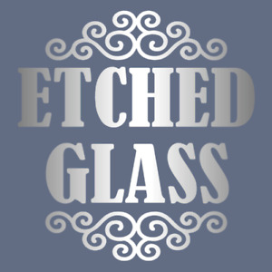 5 x A4 Sheets of FROSTED ETCH GLASS WINDOW SELF ADHESIVE VINYL