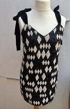 H&M Conscious Exclusive Sequin Beaded dress  UK14/EUR42/US10 SENT SAME DAY