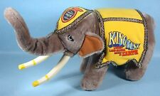 King Tusk Plush Circus Elephant Toy Ringling Bros. Barnum & Bailey 1987 Tour