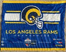 NFL LA Rams - London Wembley 2019 Game Day Flag