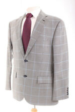 M&S BLACK & WHITE HOUNDSTOOTH MEN'S SPORTS JACKET 40S DRY-CLEANED
