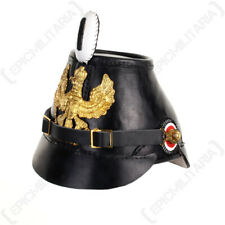 More details for prussian shako helmet - ww1 imperial german jager jaeger army military repro new