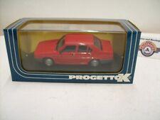 Alfa Romeo 90 Stradale, 1984, Rosso afa, Progetto K (Made in Italy) 1:43, OVP