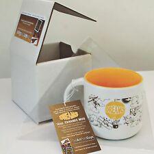 SALE! 14 oz. 'DREAMS' Aviation-themed Whimsical Ceramic Mug in gift/shipping box