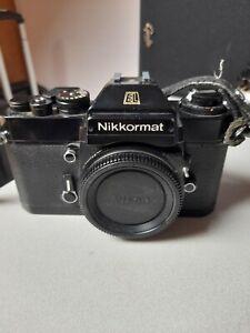 Nikon Nikkormat EL. Great condition.