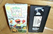 Sesame Street: Elmo's World: The Great Outdoors (VHS, 2003)