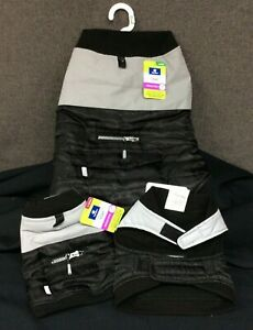 Top Paw Fleece Lined Dog Coat~ Black/Gray~ Choice of XS, S, or L~ NEW With Tags